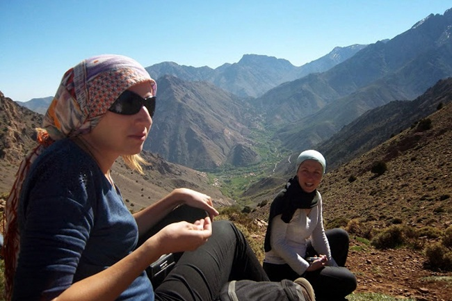 Mountain Toubkal