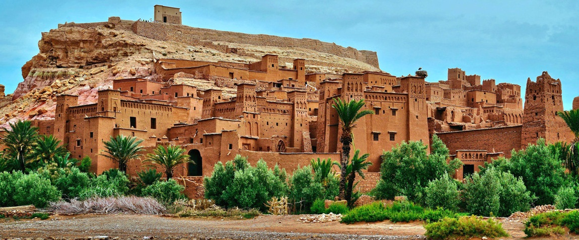 Ait ben Haddou has been a UNESCO World Heritage Site since 1987 and several films have been shot there